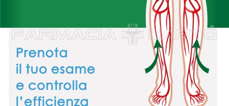 SCREENING INSUFFICIENZA VENOSA IN FARMACIA – 02 MAGGIO 2018