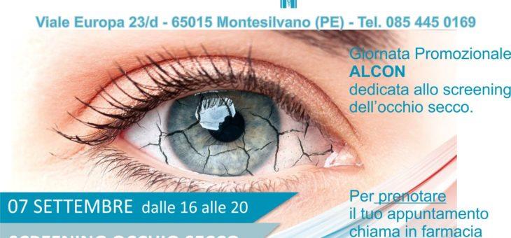 GIORNATA PROMOZIONALE ALCON – 07 SETTEMBRE 2021